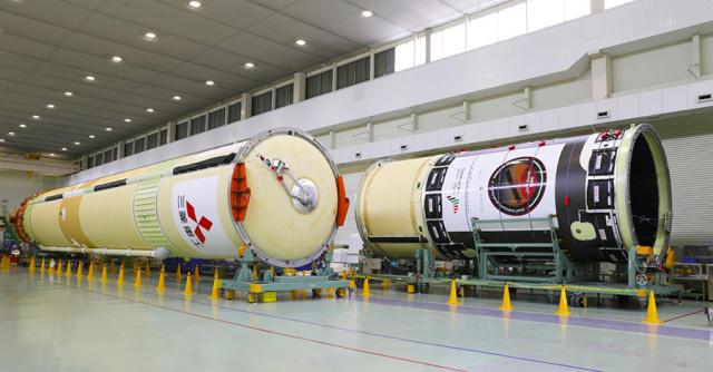 ニュース画像 1枚目:H-IIAロケット42号機コア機体