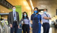 ニュース画像:アラスカ航空が感染予防対策を強化、チェックイン時の健康同意書を導入