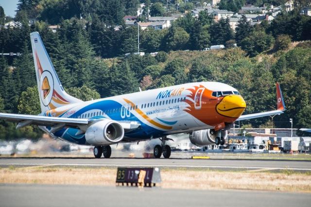 ニュース画像 1枚目:ノックエア 737-800
