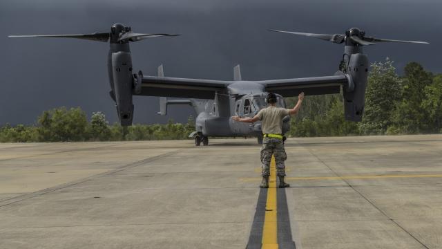 ニュース画像 1枚目:量産型V-22、400機納入を達成
