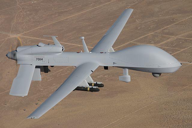 ニュース画像 1枚目:無人機専用飛行場で運用が予定されるグレーイーグル