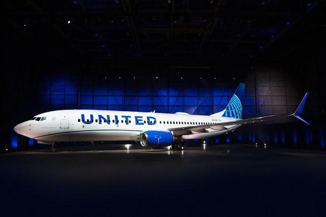 ニュース画像 1枚目:ユナイテッド航空 新塗装