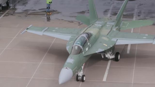 ニュース画像 1枚目:F/A-18F BlockⅢ「F287」 YouTubeから