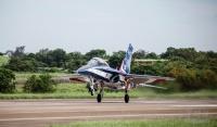 台湾の新型高等練習機「勇鷹」が、6月10日に初飛行に成功の画像
