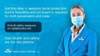 ニュース画像:KLM、公衆衛生環境研究所の勧告に基づきフライトの安全性をアピール