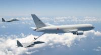 ニュース画像 1枚目:航空自衛隊 KC-767とF-15