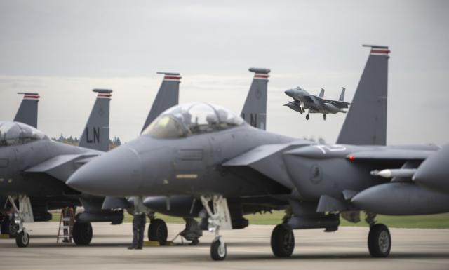 ニュース画像 1枚目:RAFレイクンヒースのF-15C