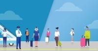 ニュース画像:米航空会社がフェイスカバー着用規則を厳格化、違反で搭乗停止も