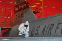 ニュース画像:アメリカ空軍州兵航空隊、保存するデルタダガーを再塗装