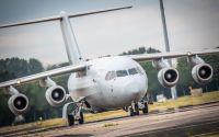 ニュース画像:イギリス空軍のBAe146、重症患者の輸送に対応 初めて仕様変更