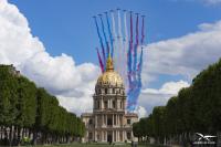 ニュース画像:「6月18日の呼びかけ」80周年、英仏アクロチームがパリとロンドン飛行