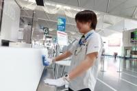 ニュース画像:セントレア、2019年のCSグランプリに清掃スタッフの松山さんを選出