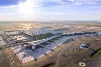ニュース画像:イスタンブール空港、3本目の滑走路供用開始 3機同時離陸の動画