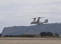 ニュース画像 2枚目:ノースアイランド海軍航空基地に到着したCMV-22B