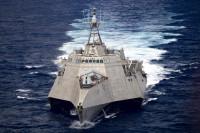 ニュース画像:練習艦「かしま」と「しまゆき」、アメリカ海軍と南シナ海で共同訓練