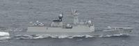 ニュース画像:海自P-1など、中国海軍の艦艇1隻が対馬海峡を通過 日本海にも進出