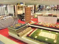 ニュース画像:長崎空港でオールシーズン使用できる天然素材絨毯の販売会、7月9日まで
