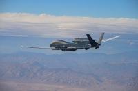 ニュース画像:NATOのRQ-4D、初めて9時間に渡る訓練と試験飛行を完了