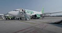 ニュース画像:シティリンク、737-500を貨物機に改修