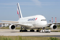 ニュース画像:エールフランスのA380、最後にAF380便を運航 完全退役
