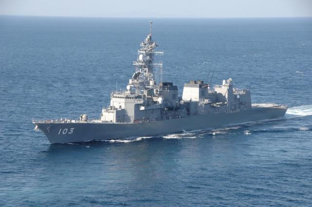 ニュース画像 1枚目:護衛艦「ゆうだち」、DD-103