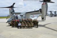 ニュース画像:オスプレイを運用する陸自の輸送航空隊、教育訓練終了