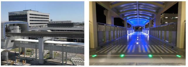 ニュース画像 1枚目:北立体駐車場・モノレール駅舎直結のアクセスデッキ