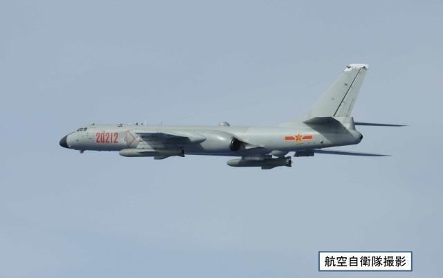 ニュース画像 1枚目:中国H-6爆撃機