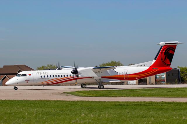 ニュース画像 1枚目:TAAGアンゴラ航空のDHC-8-400