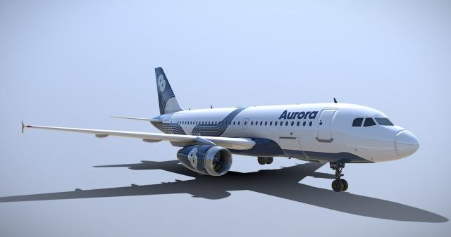 ニュース画像 1枚目:オーロラ航空 A319