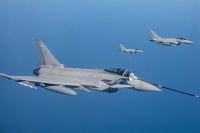 ニュース画像:RAFタイフーン、ドイツ空軍主催の空戦演習に参加