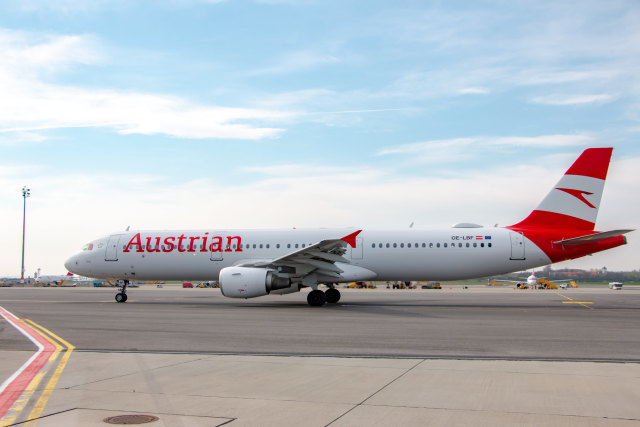ニュース画像 1枚目:オーストリア航空 A321