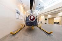 現在も「NH」で面影残すANA創業当時のヘリ移設の画像