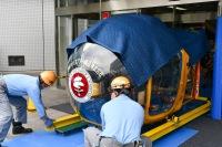 ニュース画像 12枚目:JA7008 搬入作業