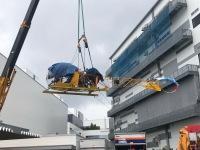 ニュース画像 17枚目:JA7008 搬入作業