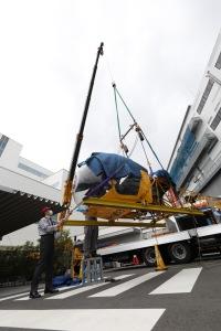 ニュース画像 16枚目:JA7008 搬入作業
