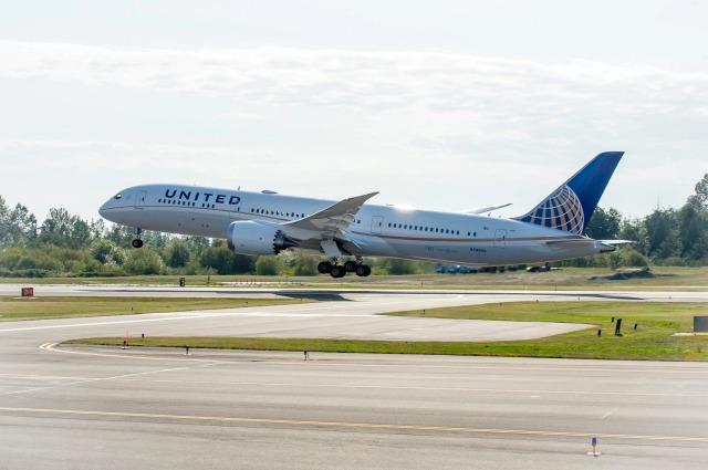 ニュース画像 1枚目:ユナイテッド航空 787-9 イメージ