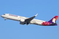 ハワイアン航空、8月中旬まで日本路線の運休を延長の画像