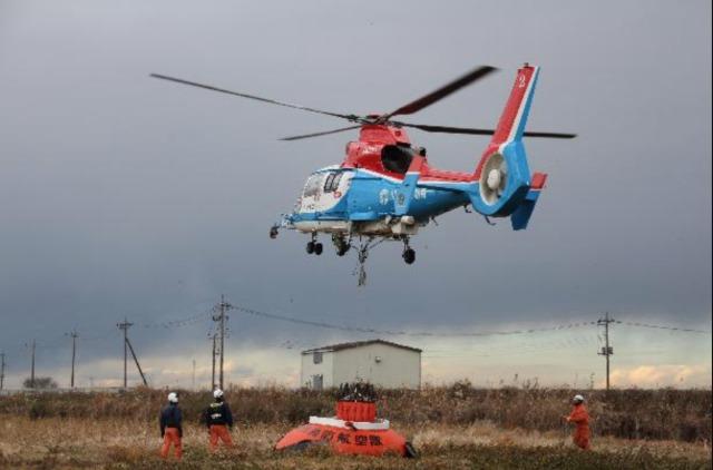 ニュース画像 1枚目:川崎市消防防災ヘリ