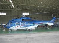 東北エアサービス、大型双発輸送ヘリコプター「JA332T」運航開始の画像