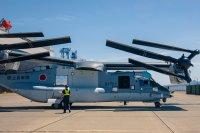 ニュース画像:陸自V-22オスプレイ、木更津に7月6日到着 7月10日に2機目