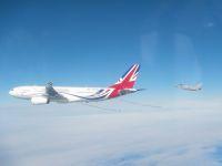ニュース画像:RAFタイフーンとVIPボイジャー、ロシア軍機をエスコート