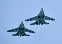 露空軍Su-27、黒海で米軍RC-135とP-8をインターセプトの画像