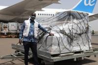 ニュース画像:ユニセフ、1カ月で50トン以上の緊急物資をアフリカや中東に輸送