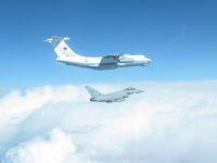 ニュース画像:RAFタイフーン、バルト三国領空警備でロシア空軍IL-78を迎撃