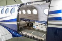 ニュース画像:テキストロン、ギリシャ保健省向け航空医療用キングエア350C受注