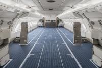 ハイ・フライのA380、エコノミー席を取り外して貨物輸送の画像