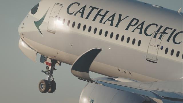 ニュース画像 1枚目:キャセイパシフィック航空