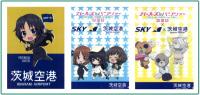 茨城空港、ガルパンオリジナルクリアファイルをプレゼント 枚数限定の画像