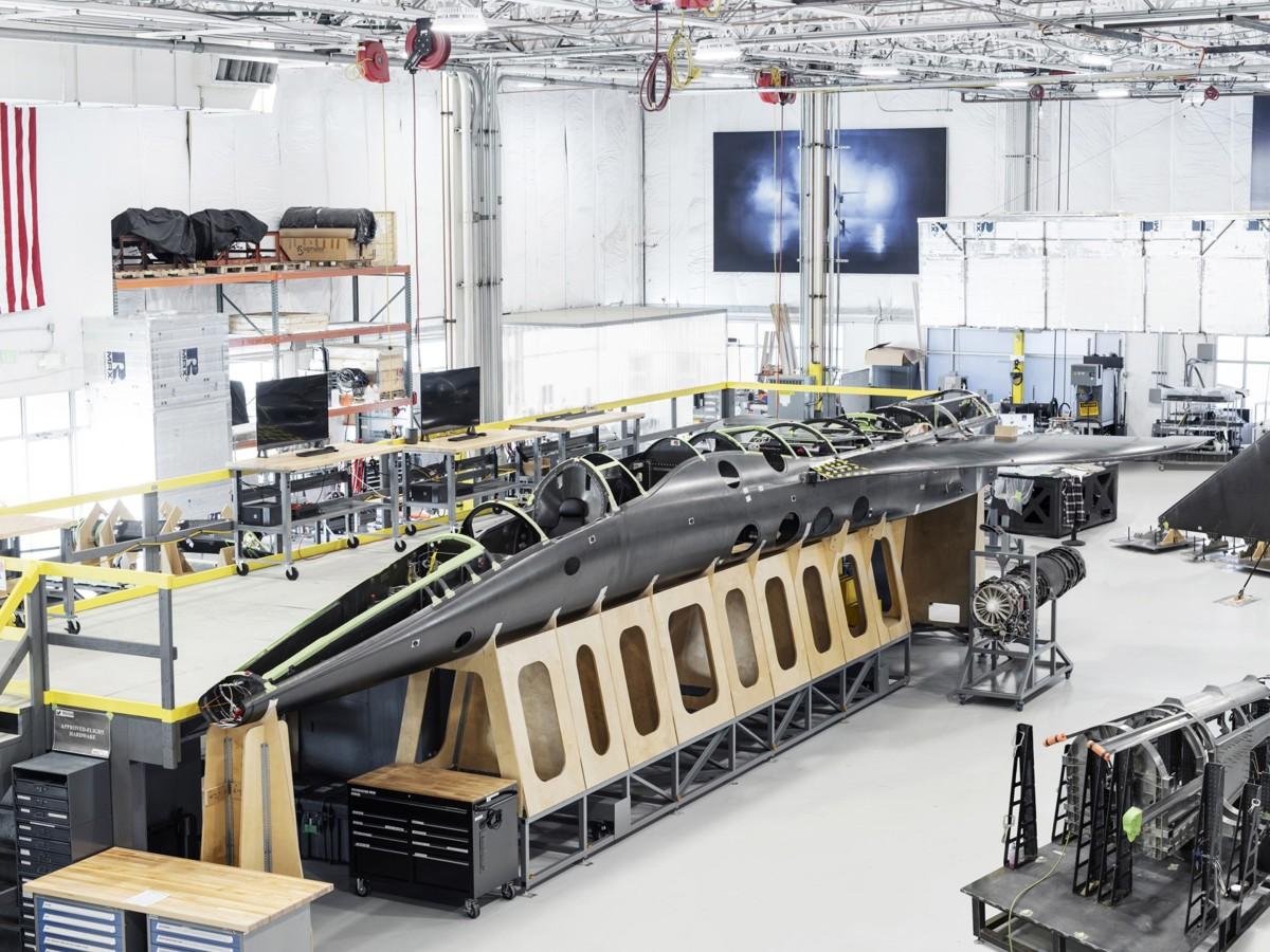ニュース画像 1枚目:製造中のXB-1 デモンストレーター